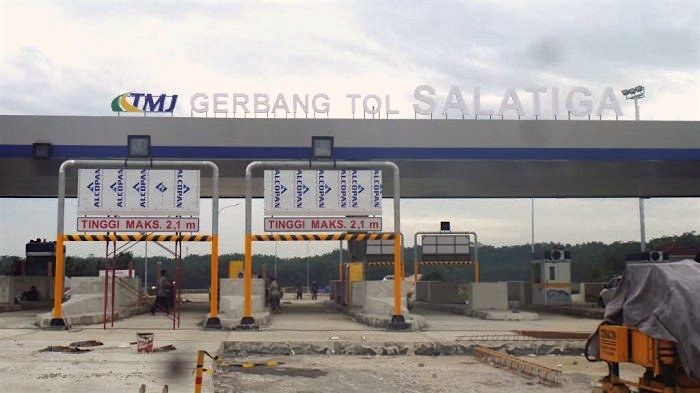 The Toll Road From Semarang to Salatiga is Almost Fully Completed
