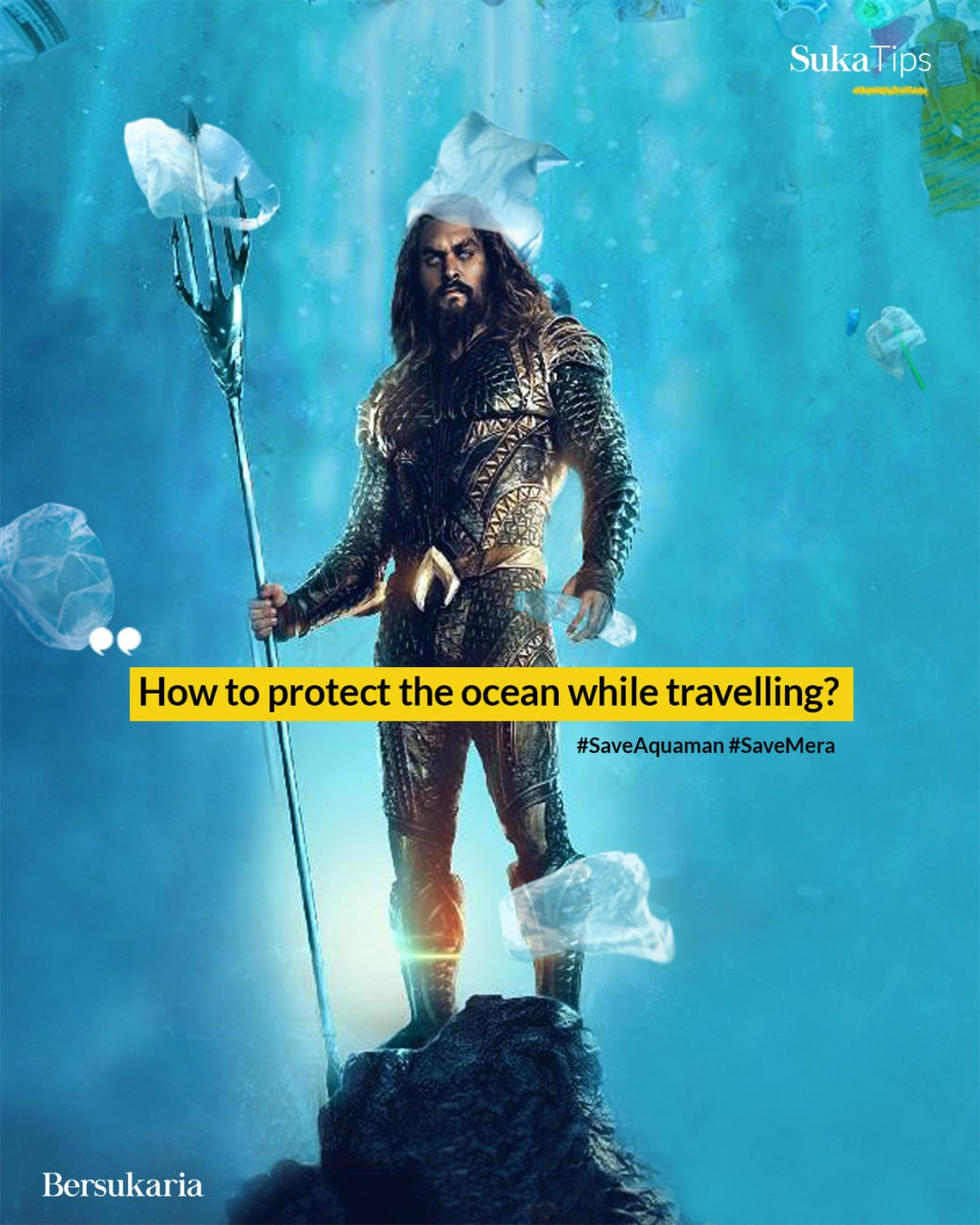 How to protect the ocean while travelling?