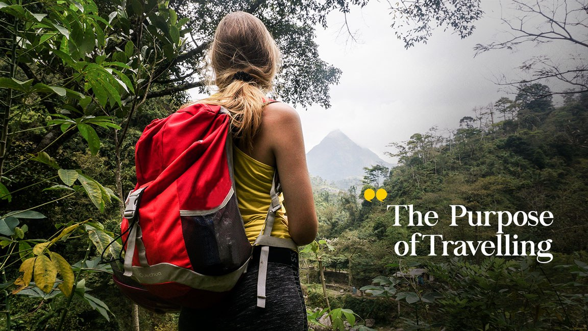 The Purpose of Travelling